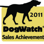 2011 DogWatch Sales achievement award