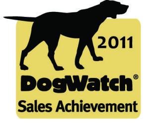 2011 DogWatch Sales achievement award