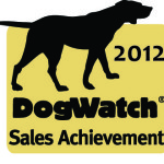 2012 DogWatch Sales achievement award