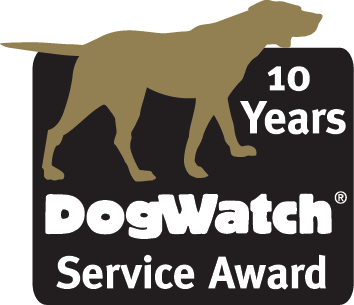 10 year service award logo