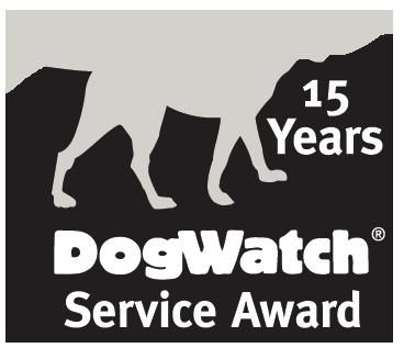DogWatch 15 year service award marker