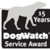 15 year service award badge